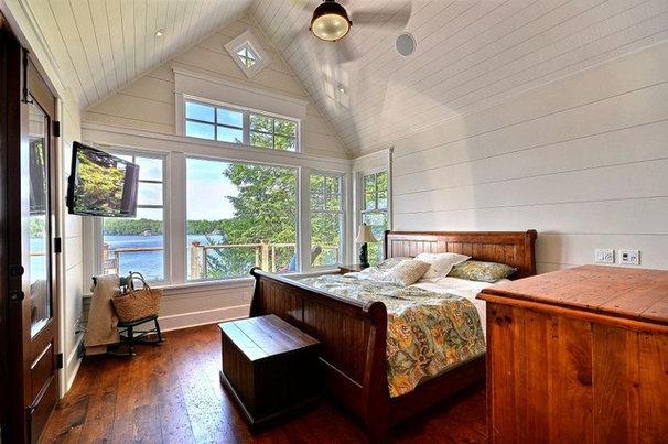 Traditional Bedroom by Clarke Muskoka Construction