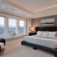 Contemporary Bedroom by Clay Construction Inc.