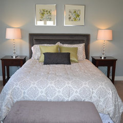 contemporary bedroom by Criteria Design, LLC