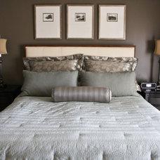 Traditional Bedroom by Denise Glenn Interior Design