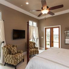 Traditional Bedroom by David Mills Custom Homes