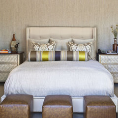 contemporary bedroom by Dayna Katlin Interiors
