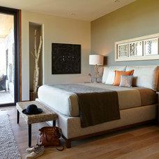 Contemporary Bedroom by De Mattei Construction