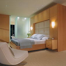 contemporary bedroom by De Meza + Architecture