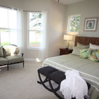 Faux Hanging Bed Room Eclectic Bedroom Atlanta By