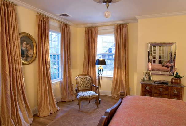 Traditional Bedroom by Dennison and Dampier Interior Design