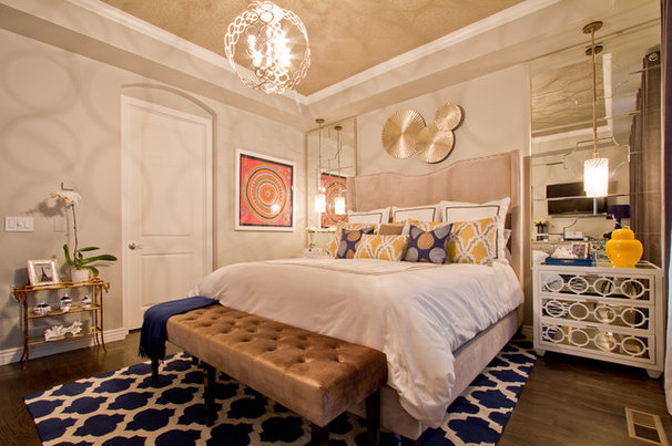 Contemporary Bedroom by Shawna Jaramillo