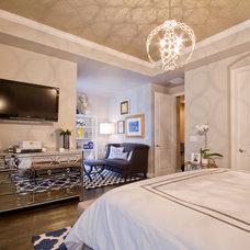 Contemporary Bedroom by Shawna Jaramillo
