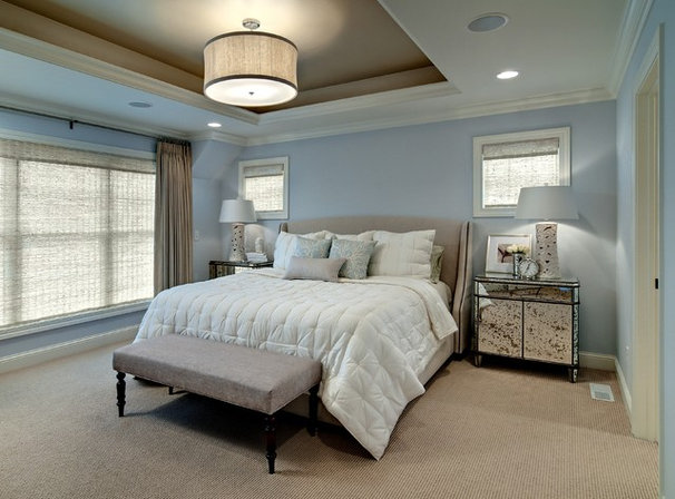 Contemporary Bedroom by Design By Lisa