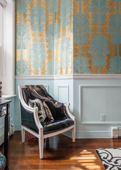 Traditional Bedroom by Lena Lalvani