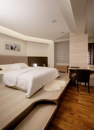 modern bedroom by design of schatz