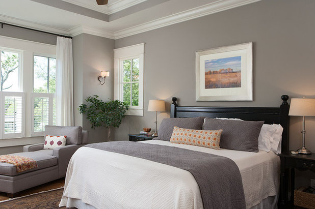 Craftsman Bedroom by Ashley Rohe Home