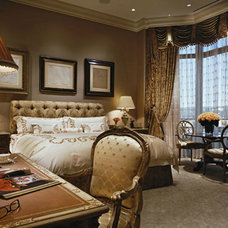 Traditional Bedroom by Donna Livingston Design