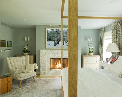 Mid century modern bedroom houzz for Mid century modern master bedroom