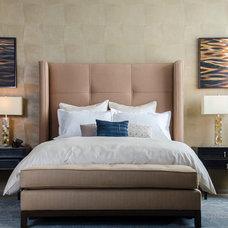 Contemporary Bedroom by Ederra Design Studio