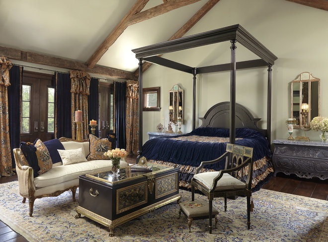 Traditional Bedroom by Edwin Pepper Interiors