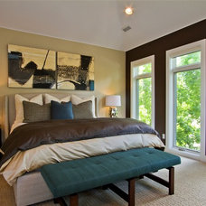 Contemporary Bedroom by Ejay Interiors