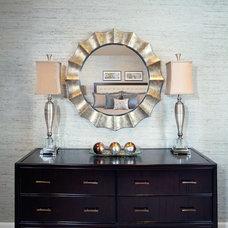 Contemporary Bedroom by FaGalde Interior Design