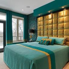 Eclectic Bedroom by Fenwick & Company Interior Design