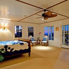 Tropical Bedroom by Flagg Coastal Homes