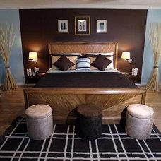 Modern Bedroom by Nicole White Designs Inc