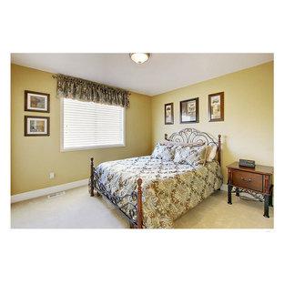 Foto de dormitorio clásico de tamaño medio
