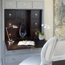 Contemporary Bedroom by Gabberts Design Studio