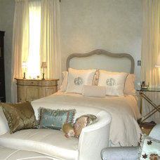 Eclectic Bedroom by Gafford Interiors