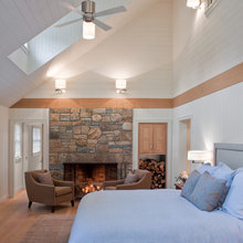 Vaulted ceilings and double height spaces
