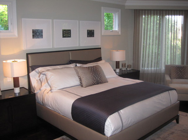 Modern Bedroom by Grainda Builders, Inc.