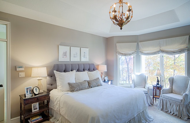 Traditional Bedroom by Herrick Design Group