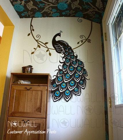 884 Peacock Bedroom Design Photos