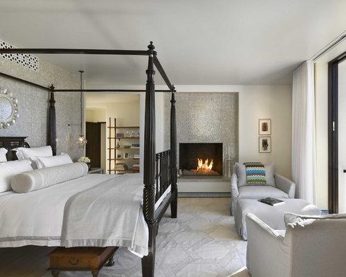 kolonialstil schlafzimmer mit kamin ideen design bilder. Black Bedroom Furniture Sets. Home Design Ideas