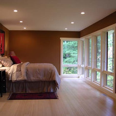 Contemporary Bedroom by Image Design LLC