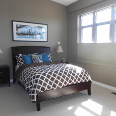 Contemporary Bedroom Master Bedroom