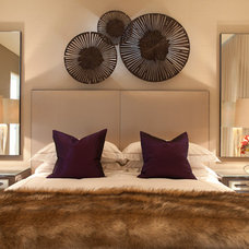 Contemporary Bedroom by Nathan Gornall Interior Design