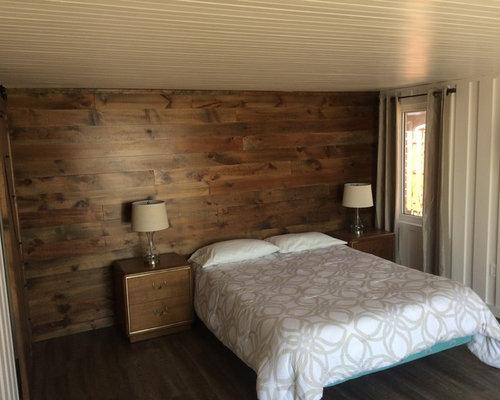 Camera da letto american style con pavimento in vinile for Arredamento american style