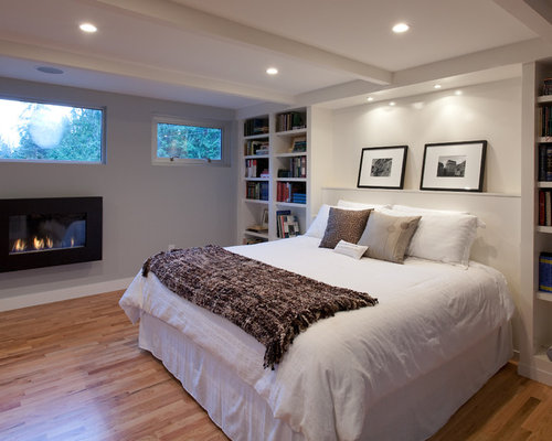 Best Basement Bedroom Design Ideas & Remodel Pictures | Houzz