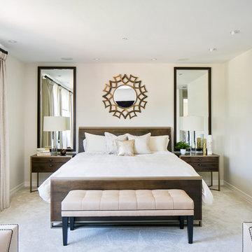 Master Bedroom in Solana Beach