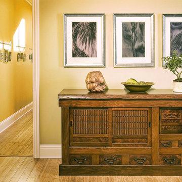 Master Bedroom in Sonoma Residence