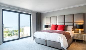 Master Bedroom Interior - Coastal Home