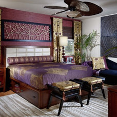 contemporary bedroom by Myriam Payne