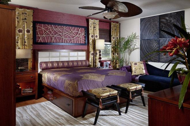 Contemporary Bedroom by Myriam Payne
