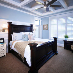 traditional bedroom by Joe Carrick Design - Custom Home Design