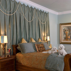 Traditional Bedroom by Jennifer Stoner Interiors