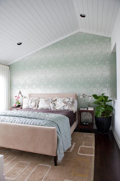 Contemporary Bedroom by Jenny Baines, Jennifer Baines Interiors