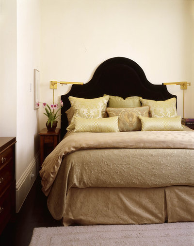 Eclectic Bedroom by Jerry Jacobs Design, Inc.