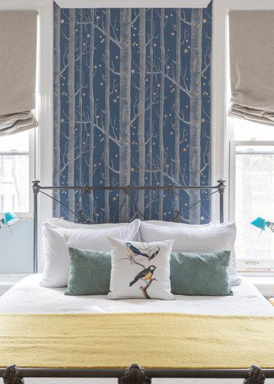 Contemporary Bedroom by Julia Mack Design, LLC