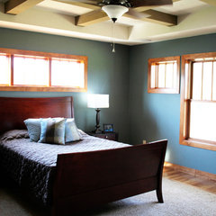 traditional bedroom by K Architectural Design, LLC