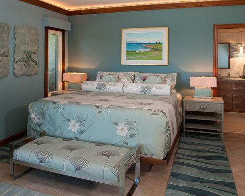 kolonialstil schlafzimmer mit porzellan bodenfliesen. Black Bedroom Furniture Sets. Home Design Ideas